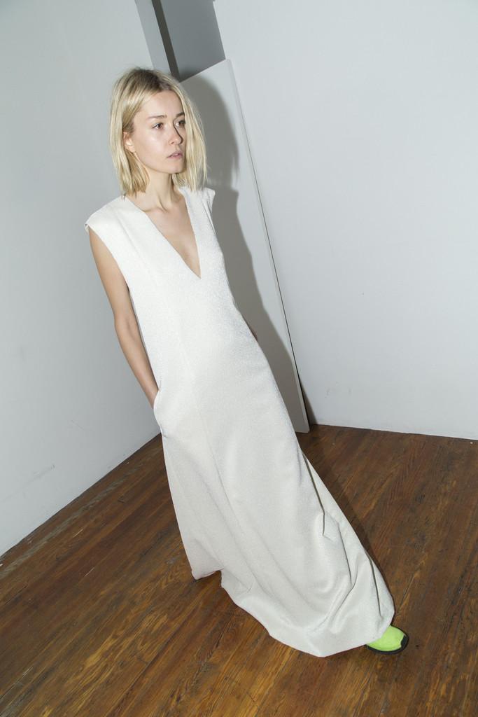 Ecru Gown by CF. Goldman   sneakerlaundry
